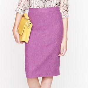 J. Crew No. 2 Pencil Skirt in Herringbone Wool 2